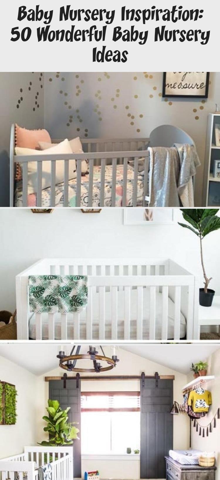 Baby Nursery Inspiration: 50 wunderbare Baby Nursery-Ideen - Gesundheit und Ernährung Fitness, #Baby...