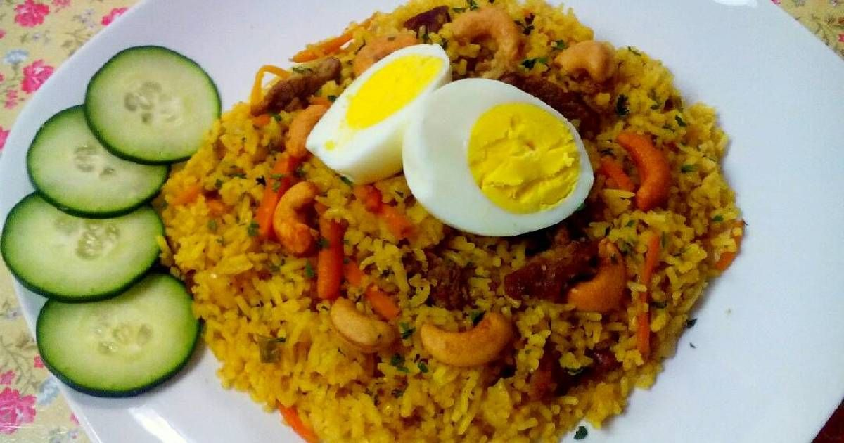Resep Nasi Biryani Rice Cooker Oleh Elza Simple Kitchen Resep Biryani Masakan Masakan Indonesia