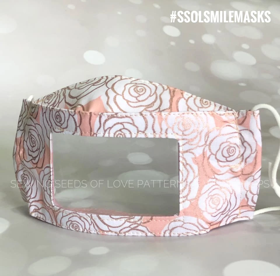 SSOL Smile Mask Pattern (FREE!) Sewing Seeds of Love