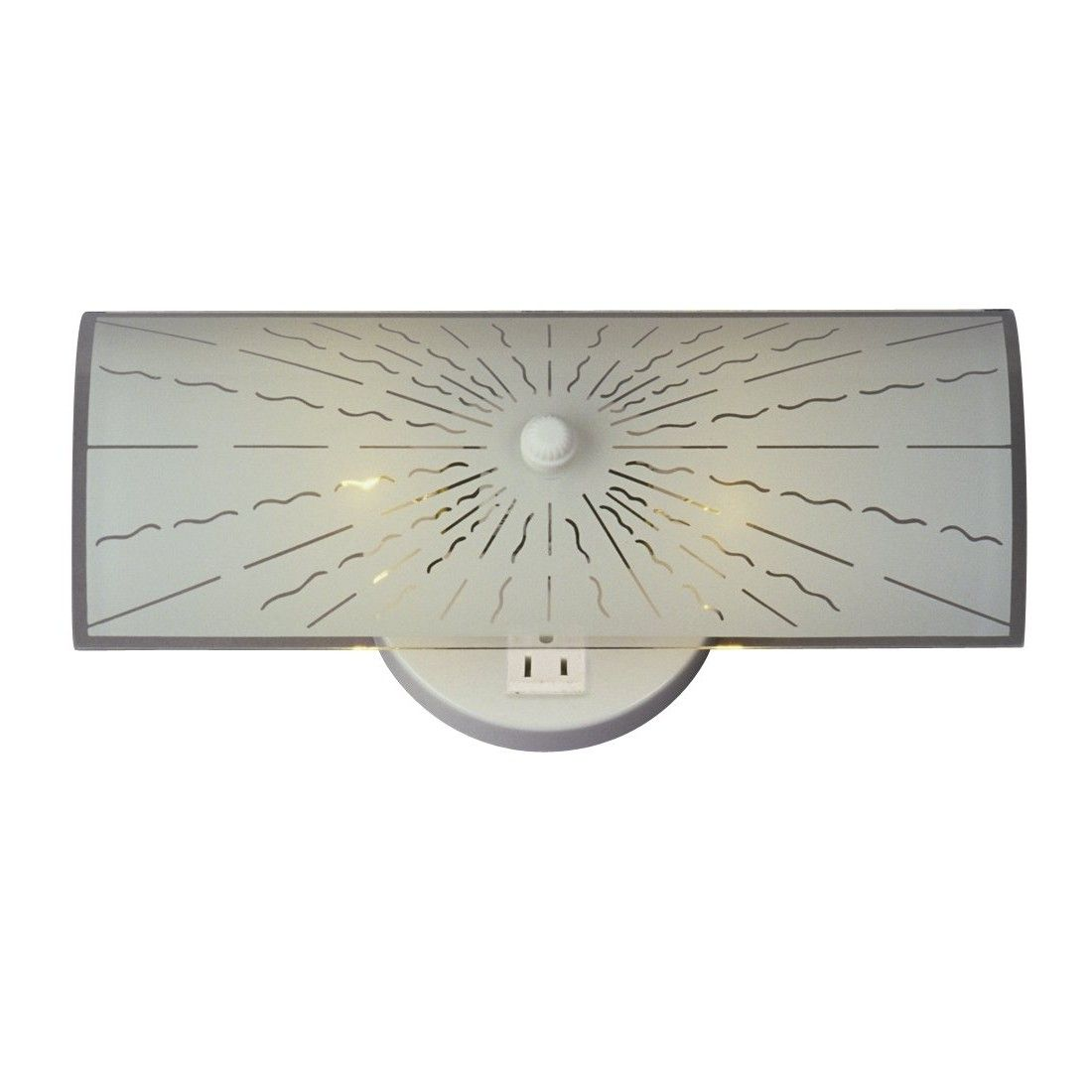 Bathroom Light Fixture With Electrical Outlet Attached Creative