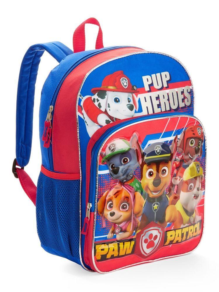 7cd2b2bd284a Nickelodeon Paw Patrol Pup Heroes Backpack 16