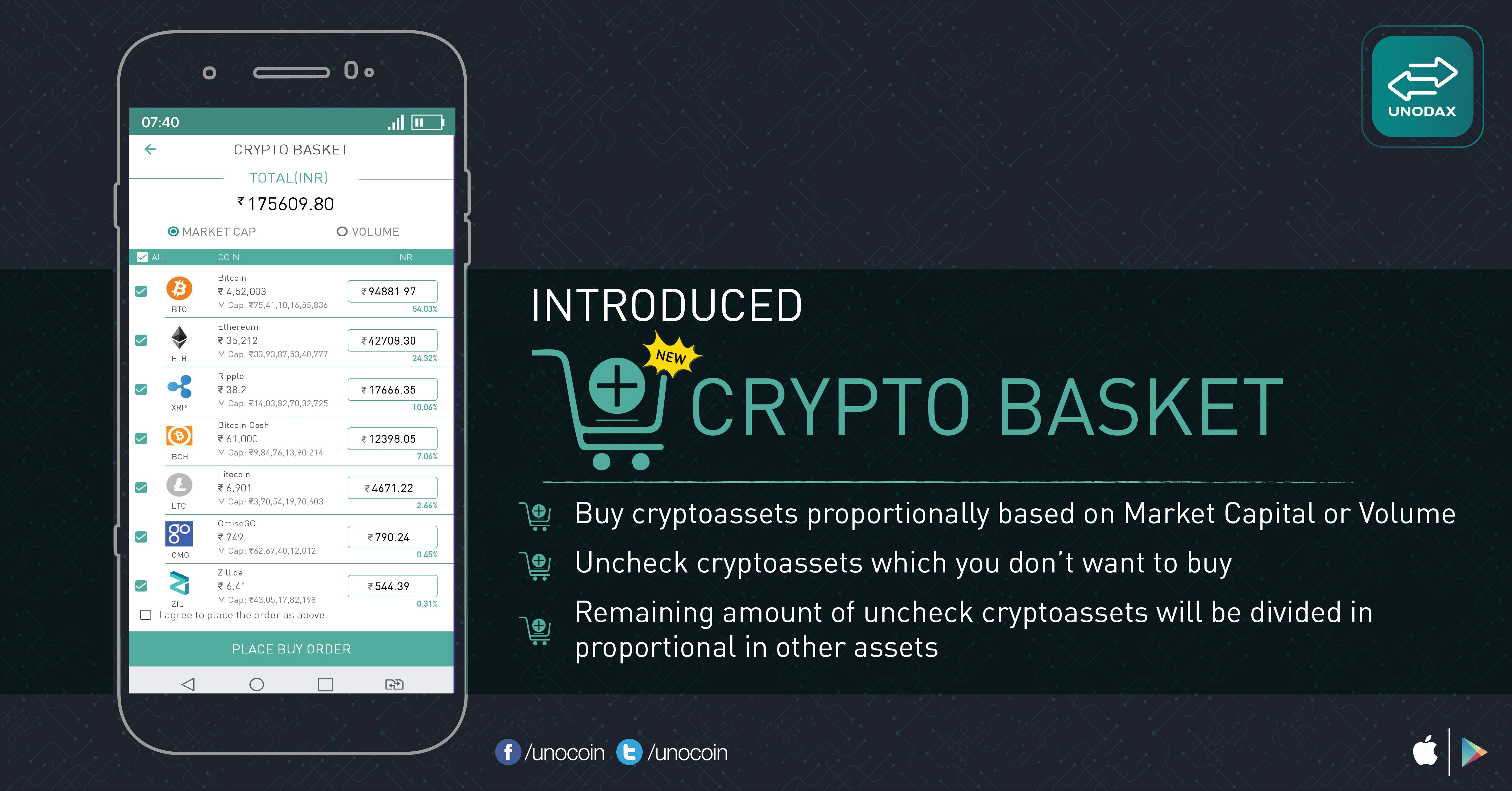 Unodax introduced a new feature on App platform. Buy any
