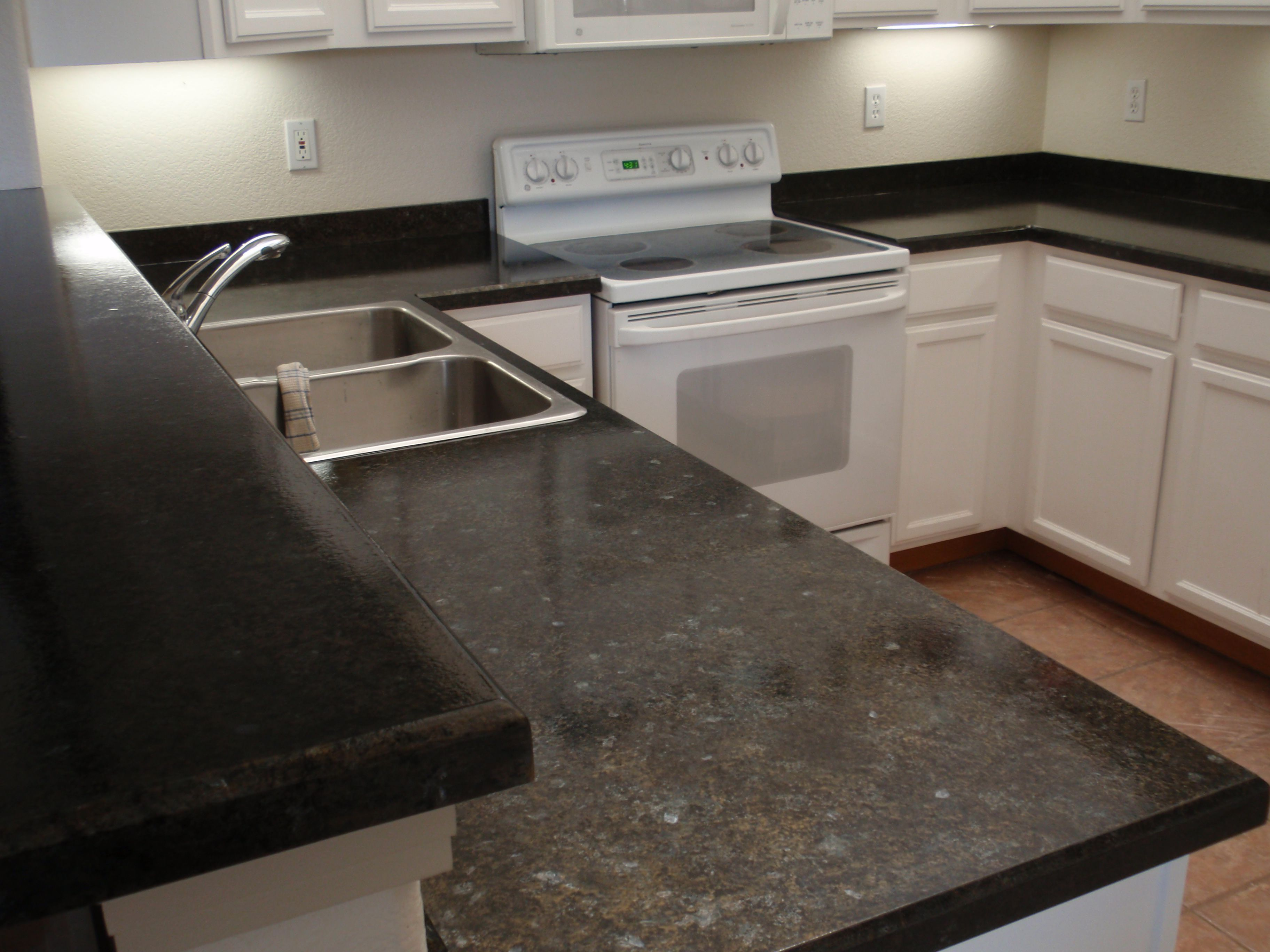 Refinish Your Laminate Countertop To Look Like Granite