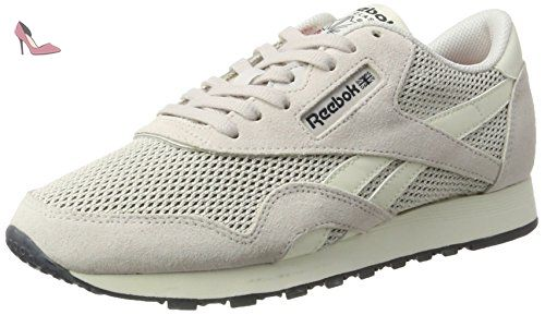 Reebok Royal Ultra, Sneakers Basses Homme, Gris (Asteroid Dust/Seaside Grey/Ash Grey/Fire Red/White), 39 EU