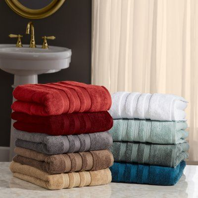 Hotel Premier Collection 100 Cotton Luxury Bath Towel By Member S Mark Assorted Colors Sam S Club Bath Towels Luxury Blue Towels Gray Towels