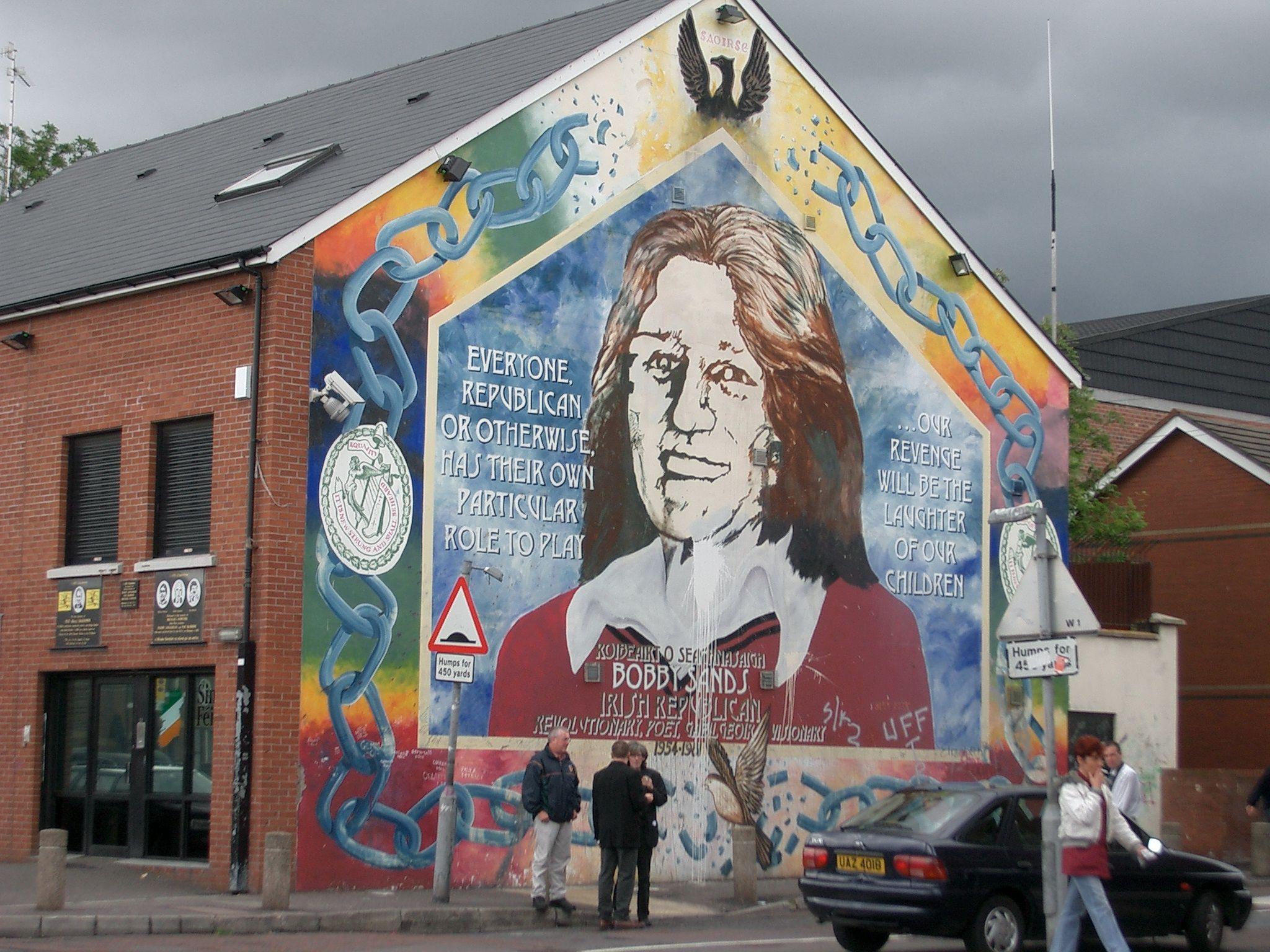 Bobby Sands M.P., hunger Striker - West Belfast, Northern Ireland
