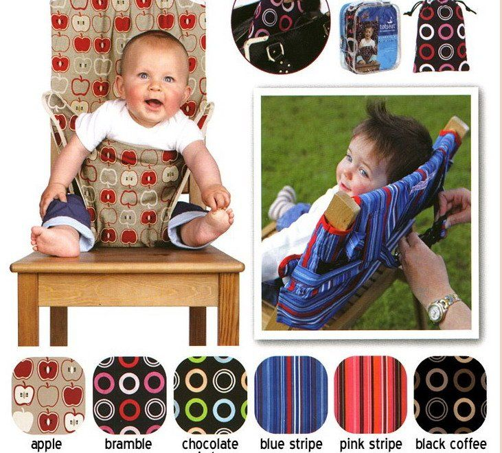 pattern for dining chair sling for baby Baby sleeping