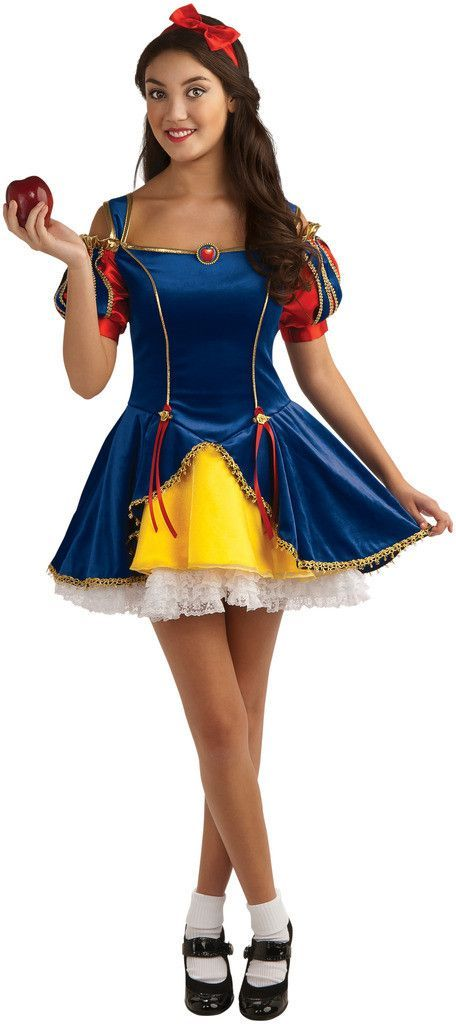 Snow White Teen Costume | Teen costumes, Snow white and Snow