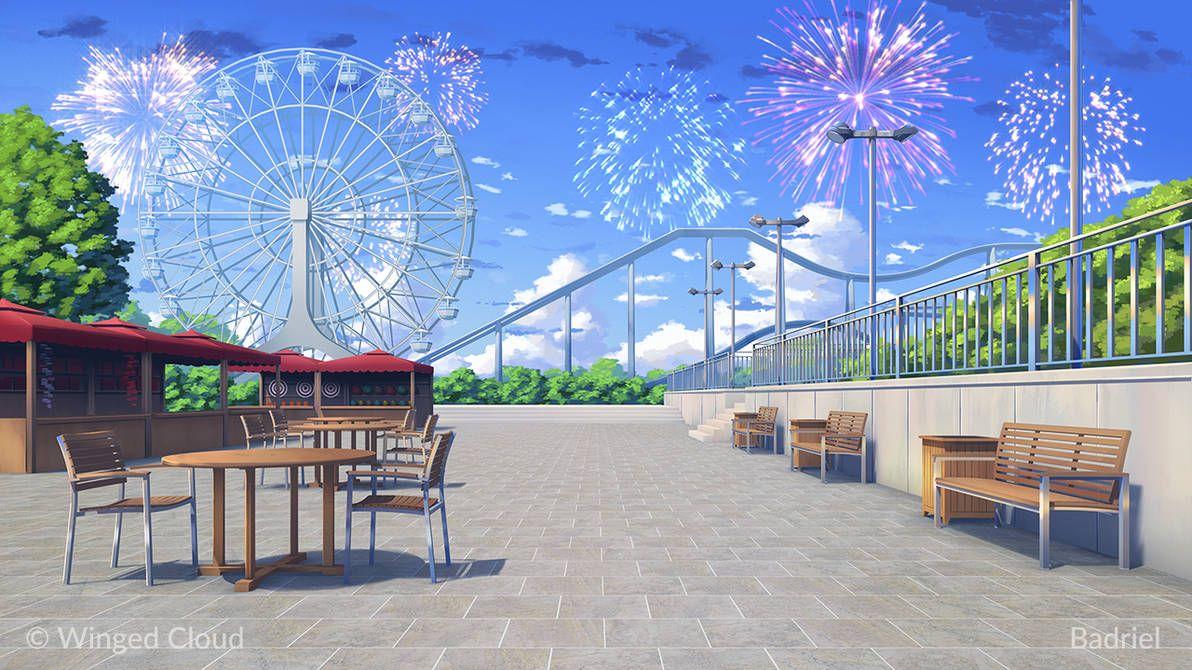Badriel的游乐园 Anime Background Anime Scenery Anime Places