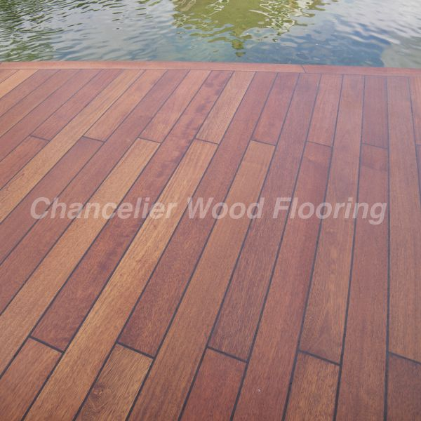 Marine Burmese Teak Flooring Plank Teak Wood Flooring In