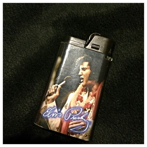 Elvis Lighter Black Elvis lighter. Price negotiable. Listed under HT for relevant viewers. Hot Topic Other