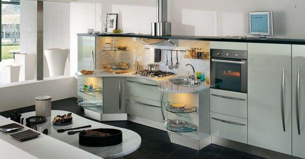 Contemporary Kitchens 5 Models Skyline From Snaidero  Modern Alluring Kitchen Models Design Decoration