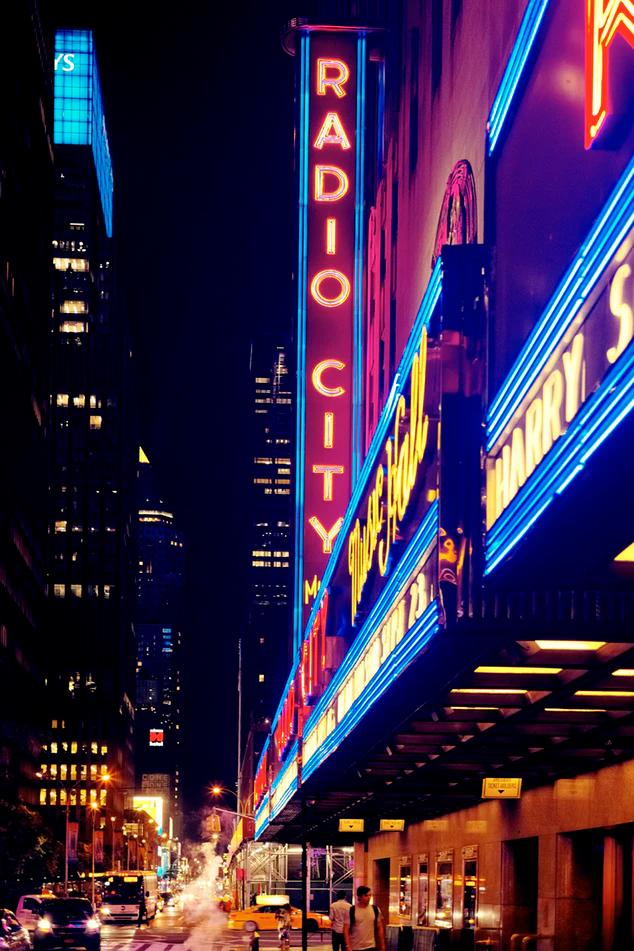 Inlighted Radio City Signage Photo Free Neon Image On Unsplash Radio City Radio City Music Hall New York Broadway