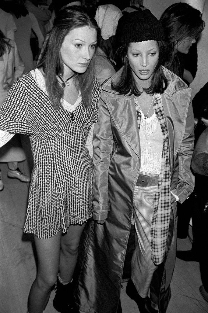 Carla Bruni Sarkozy On Music Fashion And Life After Politics Grunge Fashion 90s Fashion Grunge Fashion