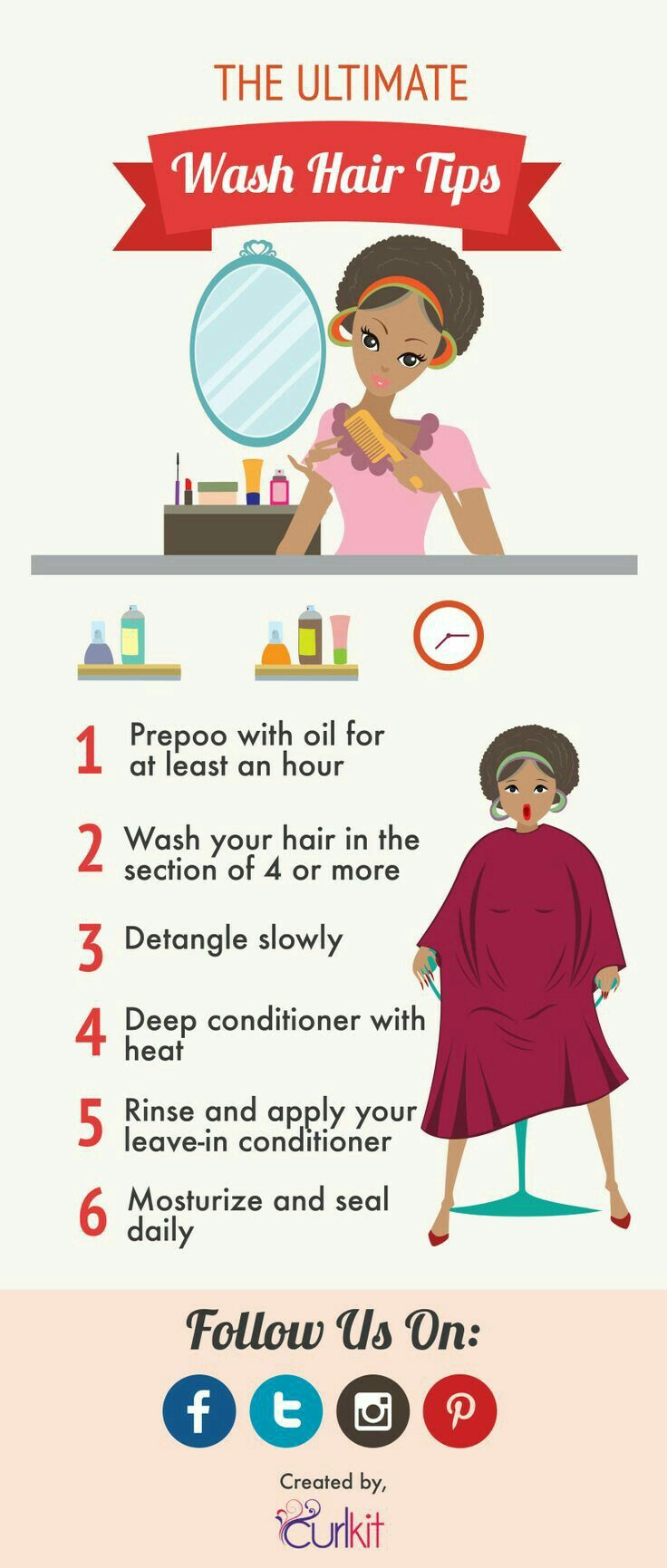 How To Take Care Of Hair After Temporary Straightening And