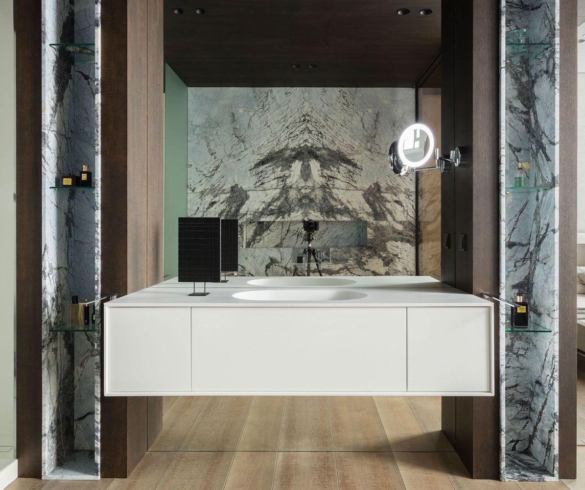 Bagno classico marmo e legno (con immagini) Bagni