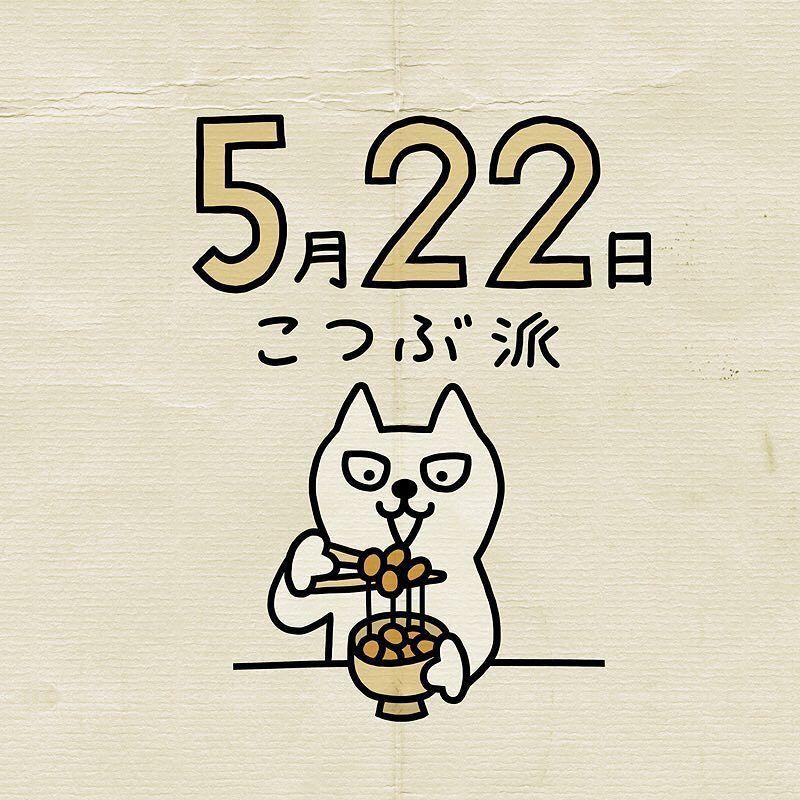 #日めくりカレンダー #5月22日 #cat #catsofinstagram #catstagram #catlover #cats #ねこ #しろねこトーフ #シロネコ #LINEスタンプ #illustration #イラスト #しろねこ #白猫 #calendar #日めくり #日めくり365日 #instadaily #にゃ #猫 #にゃんすたぐらむ #ねこ部 #猫部 #ねこすたぐらむ #ペコねこ部 #ふわもこ部 #にゃんだふるらいふ #522 #小粒納豆 by swecco