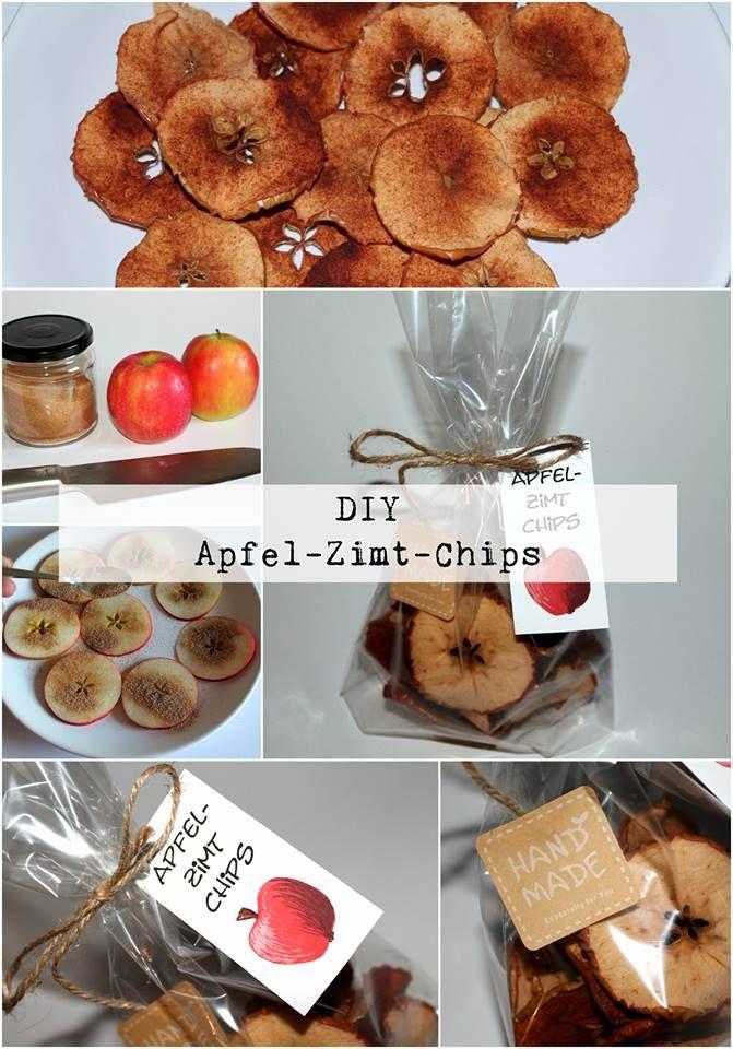 Diy Apfel Zimt Chips Alle Diys Von Diycarinchen