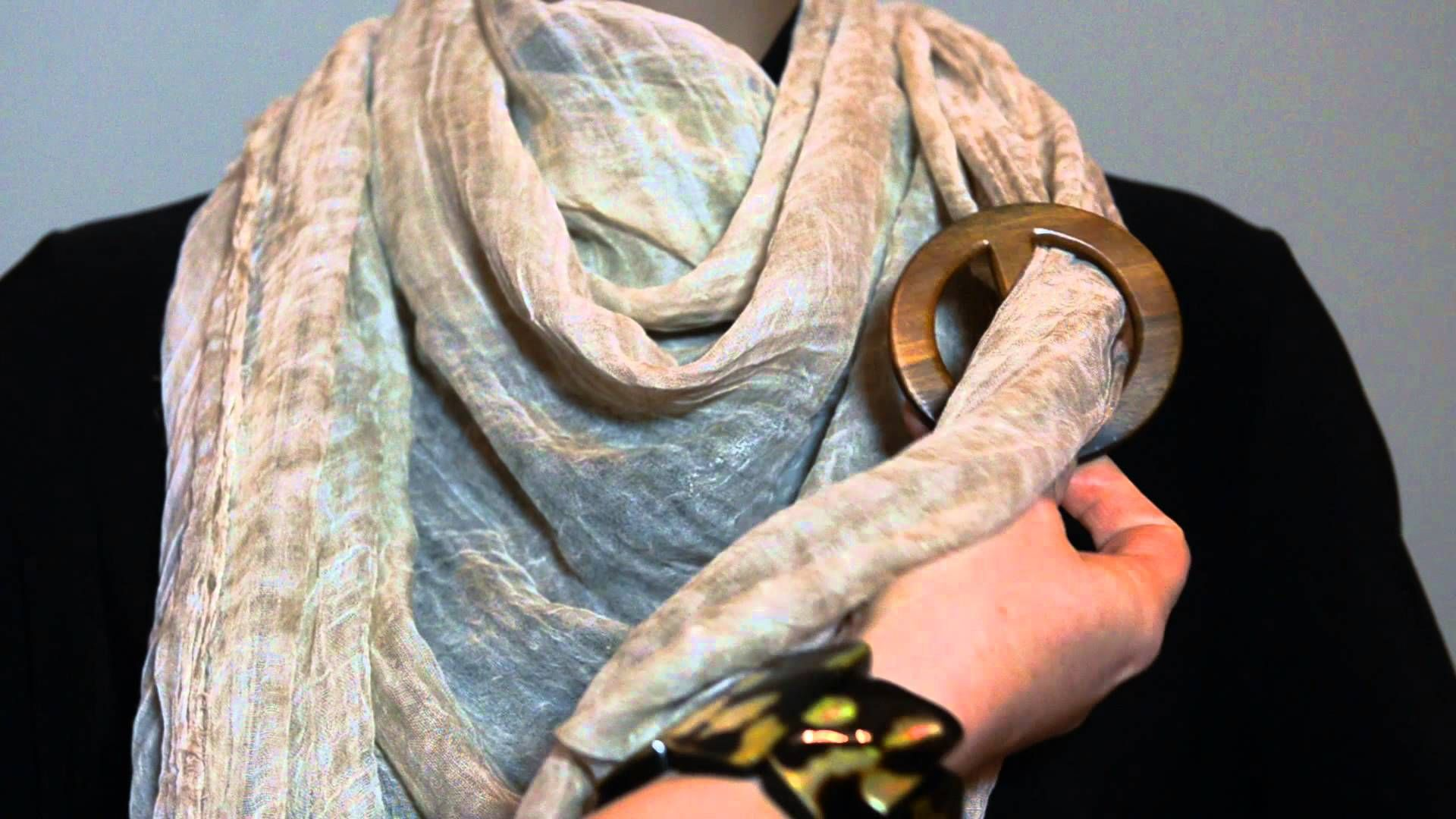 Rings scarf how to wear photos