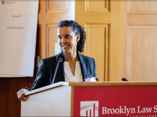 Professor Natalie Chin Is The Director Of Brooklyn Law School S New Disabilities Clinic She Hosted A Disability And Civil Right Law School Civil Rights School