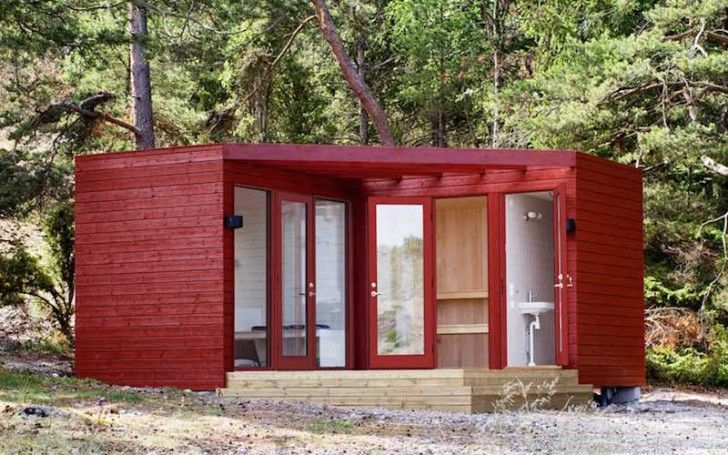 20 awesome ideas for your pallet house or shelter page 4 for Diy cabins and cottages