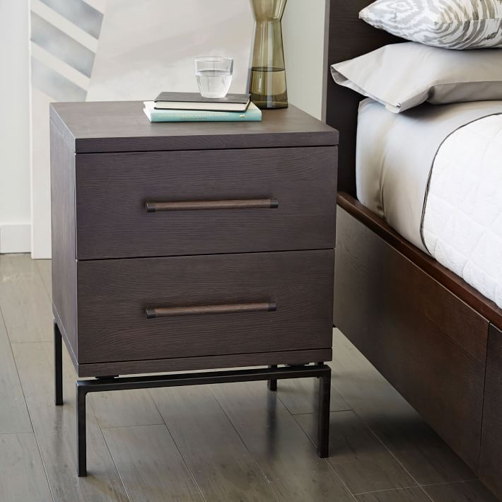 Nash 2-Drawer Nightstand – Mineral | JOSE | Pinterest | Nightstands ...