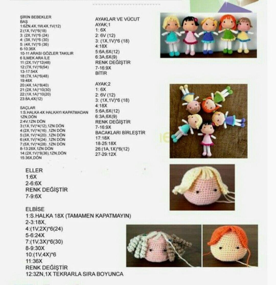 Amigurumi Oyuncak Fil Yapılışı ( Free Pattern )   Örgü Bahçem   1117x1080