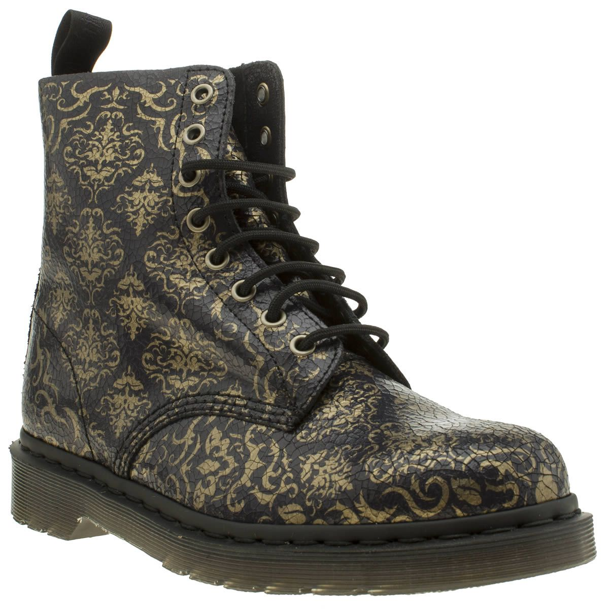 Footwear · Dr Martens Purple Pascal Baroque 8 Eye Womens Boots