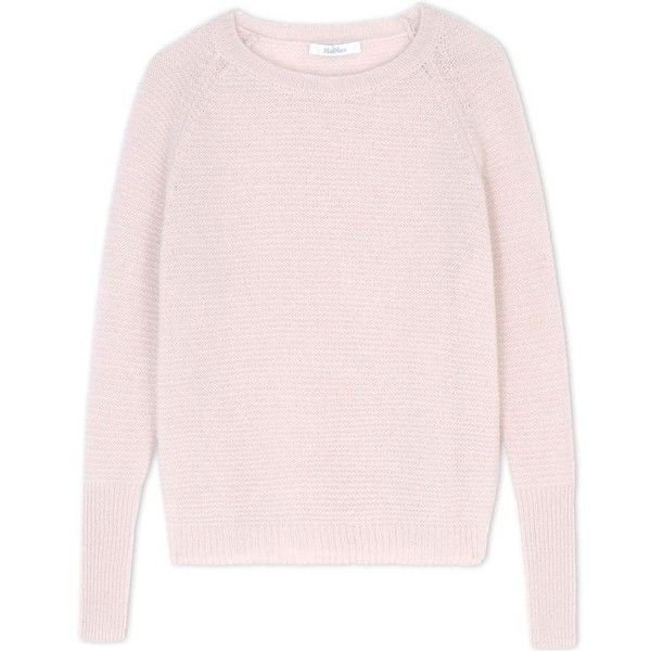 Max Mara Brezza Silk & Cashmere Sweater ($920) ❤ liked on ...