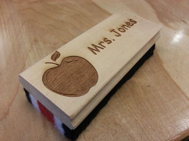 Customized Chalkboard Eraser Gift For A Teacher Eraser Gifts Teacher Favorite Things
