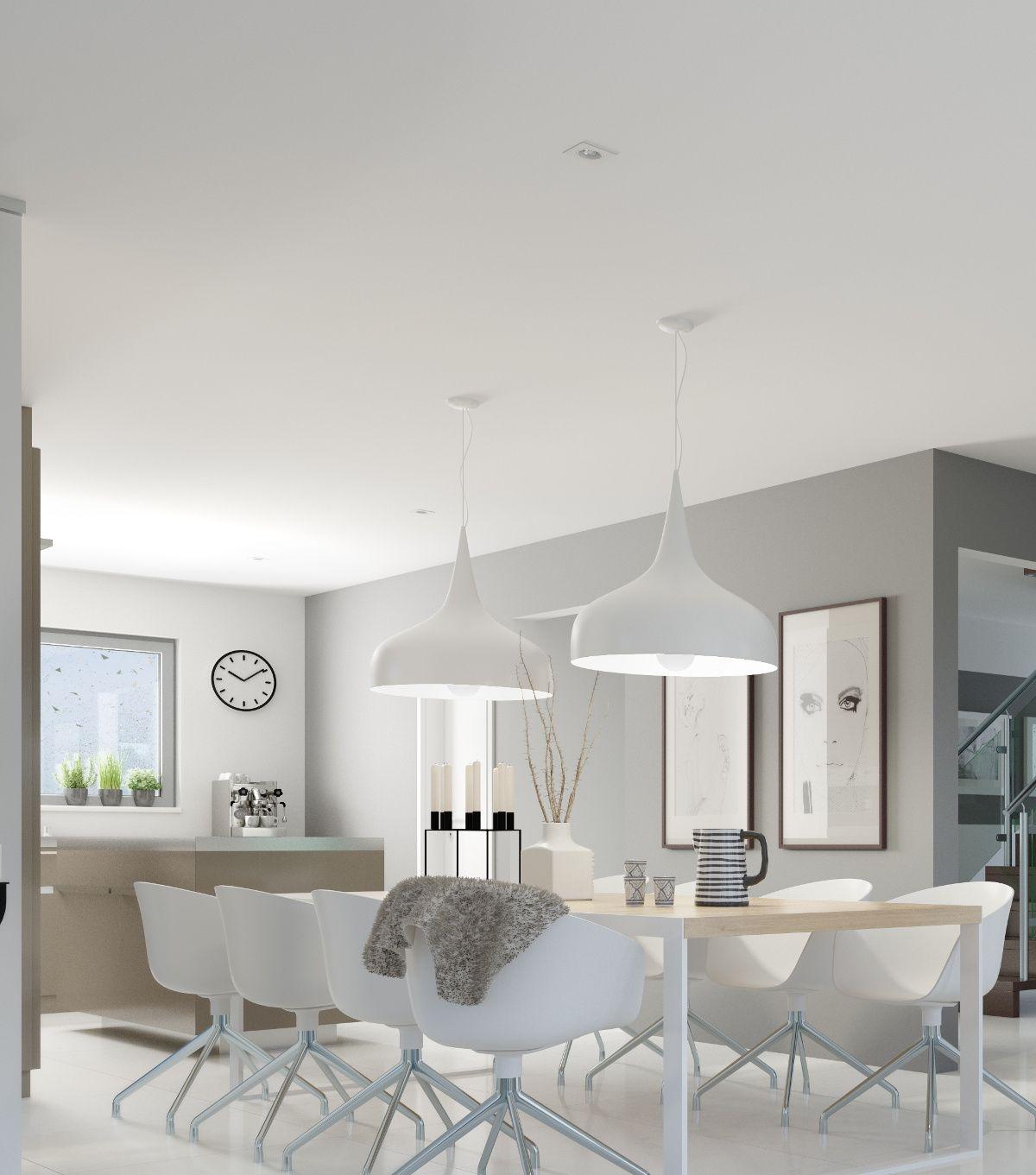 Essen in weiß. Eben eine zeitlose Farbe. #Haus #Fertighaus #Wohnen ...