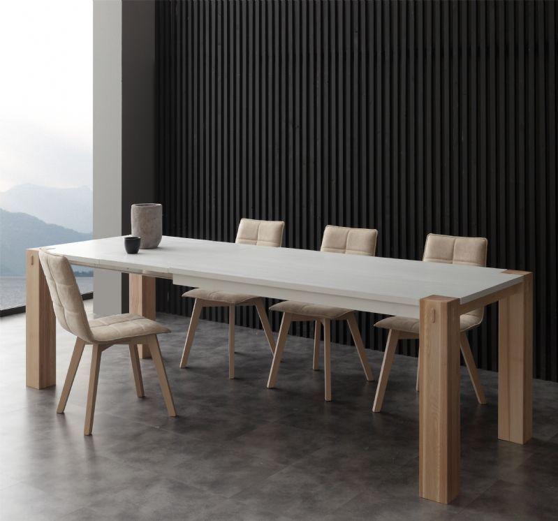 Tavolo Factory bicolor 694 tavoli moderni allungabili - tavoli ...