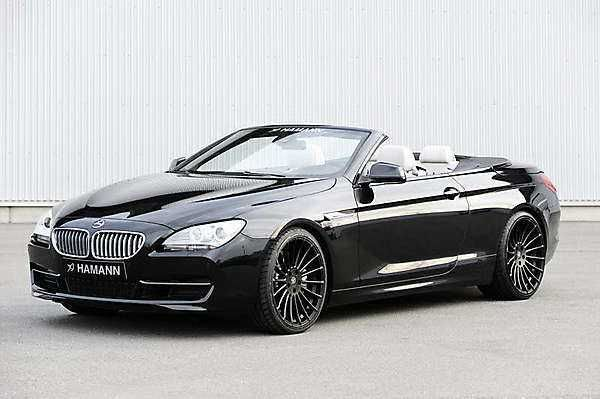 The 2018 2019 BMW 6 Series Cabrio Hamann Tuning Of New Convertible