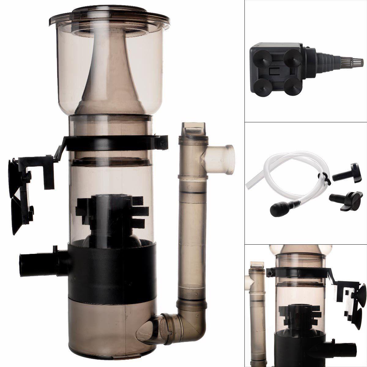 Aquarium fish tank shop - Amazon Com Safstar Aquarium Protein Skimmer With 530gph Pump Filter Fish Tank Powerhead