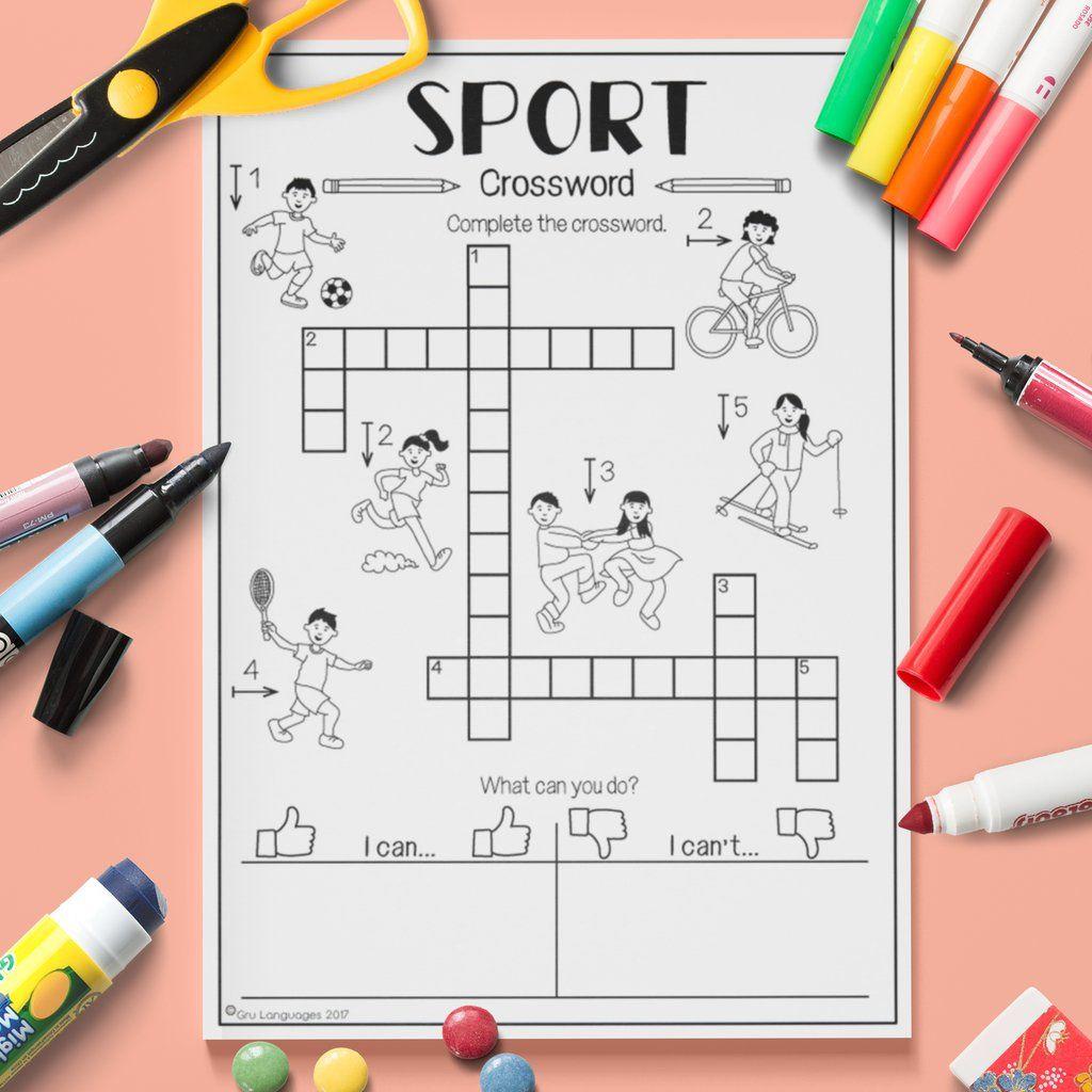 Sport Crossword