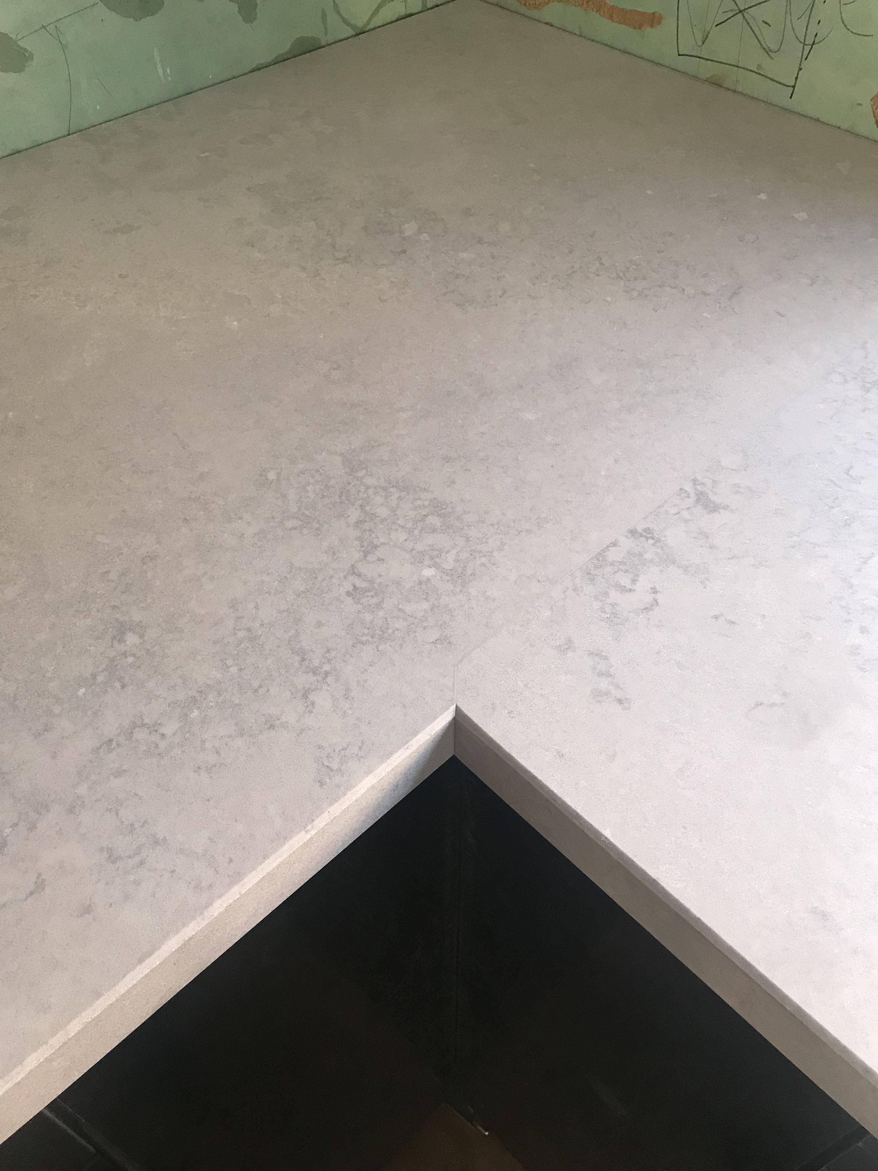 Caesarstone Airy Concrete Countertop Concrete