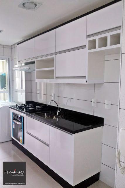 Fernandez m veis planejados cozinhas em 2019 cocinas for Cocinas integrales modernas chiquitas