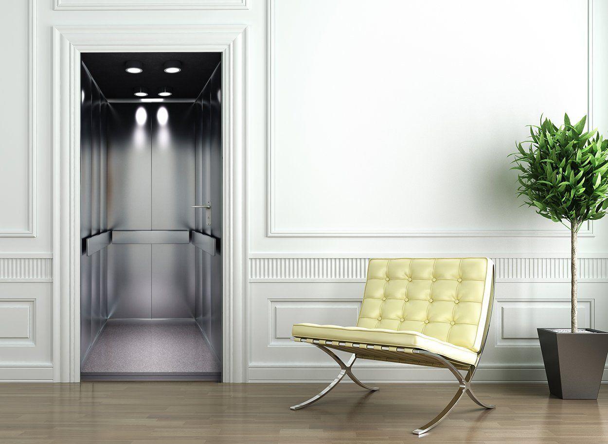 t rtapete selbstklebend t rposter fahrstuhl aufzug. Black Bedroom Furniture Sets. Home Design Ideas