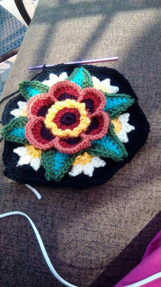 In lieu of Bullion Stitches | Hooked on Crochet | Pinterest
