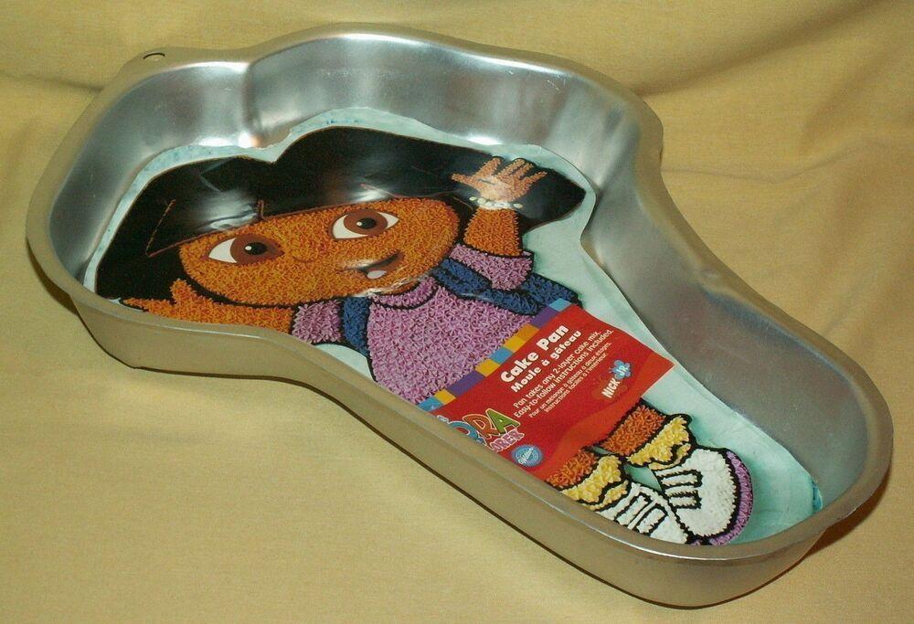 DORA EXPLORER CAKE PAN WILTON 2105-6300 INSERT ...