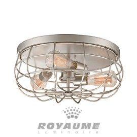 Copper Bronze Springdale SPH15111 Peter LED Vintage Semi-Flush Mount
