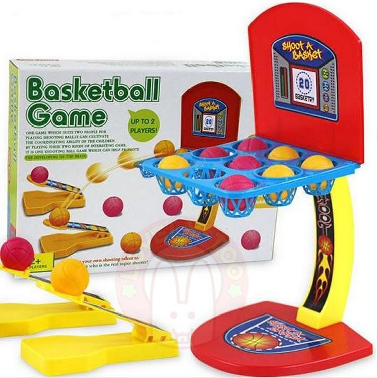 Mini Finger Basketball Shooting Toys Kids Puzzle Game Intelligence Development