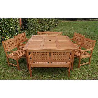 Amazonia Porto Outdoor Dining Set
