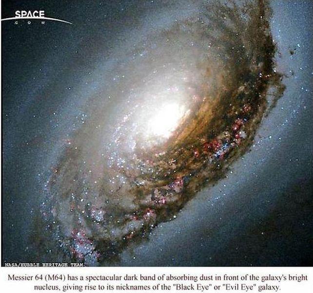 NGC 4826 Black Eye Galaxy