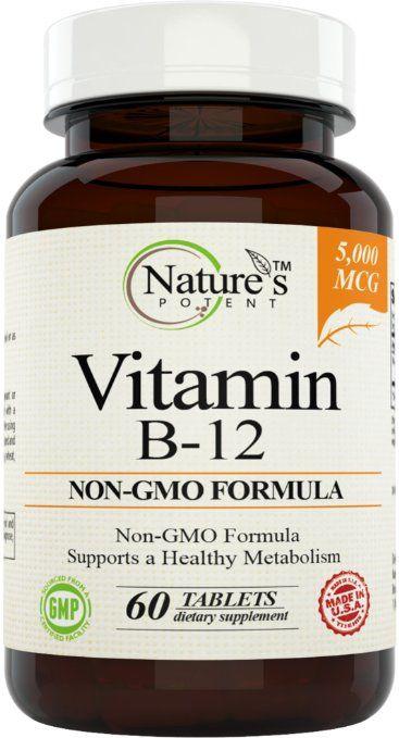 Vitamin B 12 5000mcg Supplement With Methylcobalamin Methyl B12