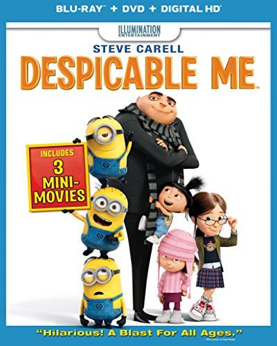 Despicable Me (Blu-ray Combo Pack (Blu-ray + DVD + Digital