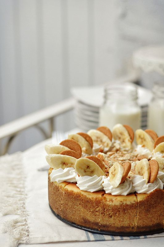 Bourbon Banana Pudding Cheesecake |The Candid Appetite