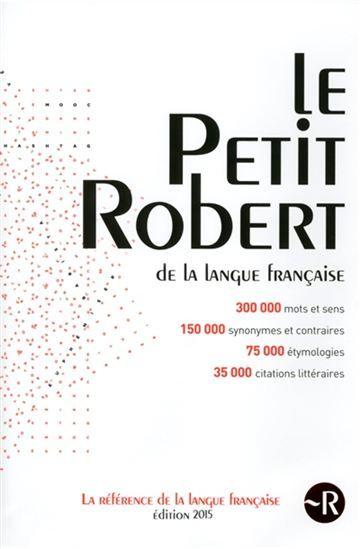 Petit Robert Le 2015 Par Collectif Words Security Word Search Puzzle