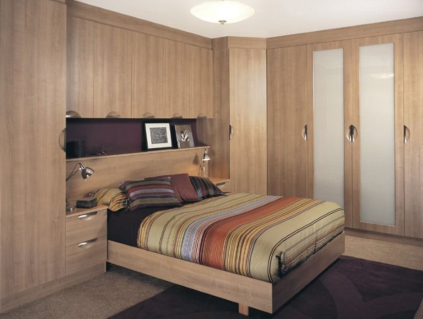 Bildergebnis Für Built-in Wardrobe Around Bed