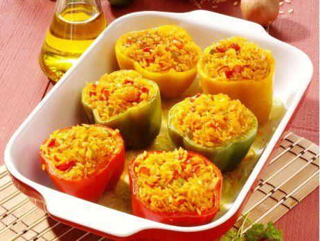 19++ Gefuellte paprika mit reis vegetarisch Sammlung